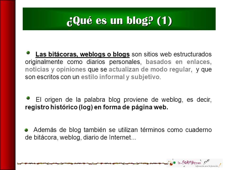 ¿Qué es un blog (1)