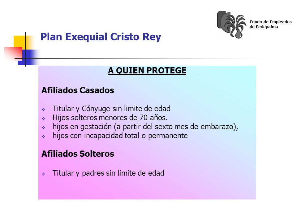 Plan Exequial Cristo Rey