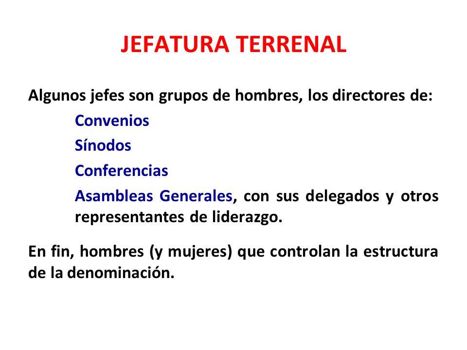 JEFATURA TERRENAL