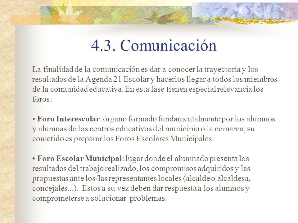 4.3. Comunicación