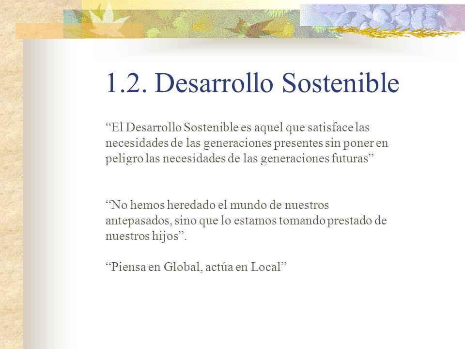 1.2. Desarrollo Sostenible