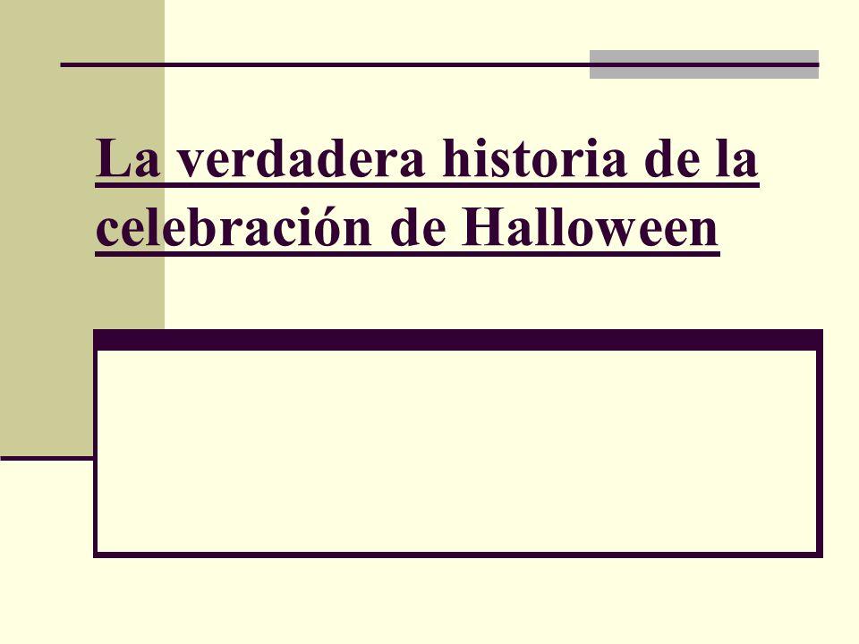 La verdadera historia de la celebración de Halloween