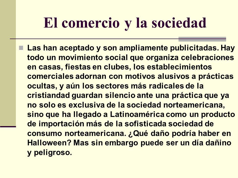 El comercio y la sociedad