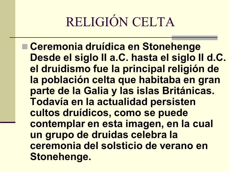 RELIGIÓN CELTA