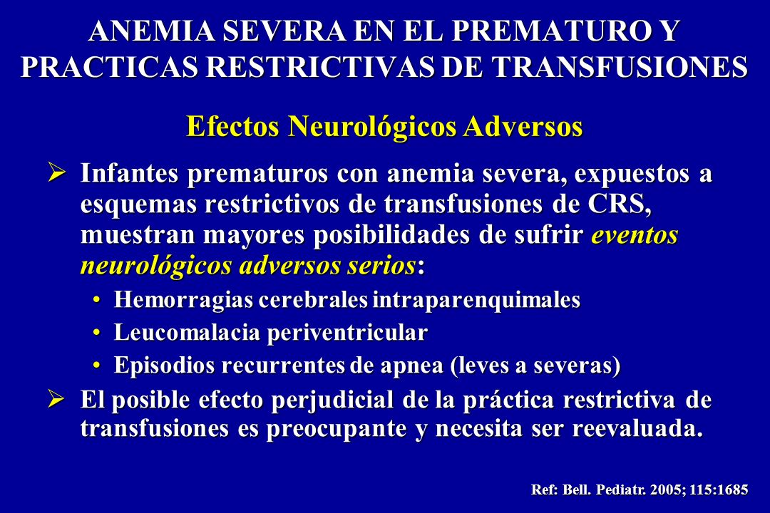 Efectos Neurológicos Adversos