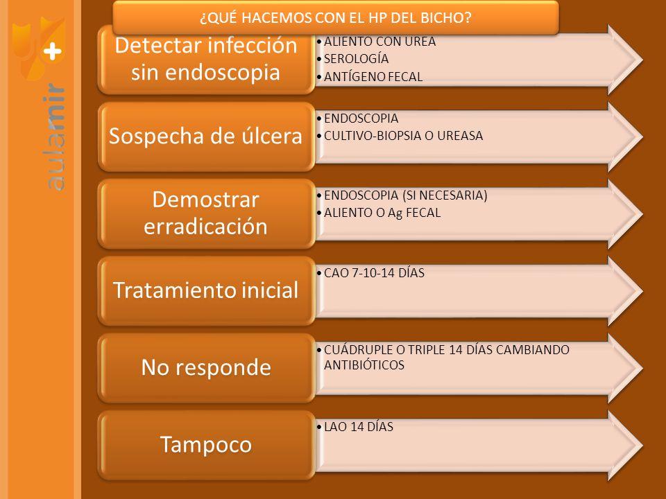 Detectar infección sin endoscopia