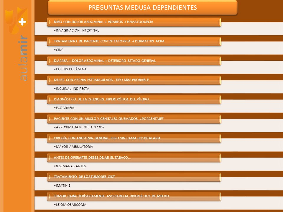 PREGUNTAS MEDUSA-DEPENDIENTES