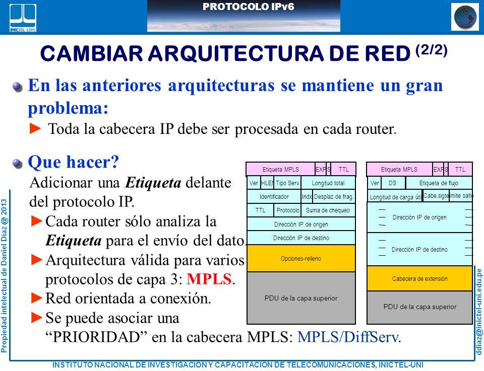 CAMBIAR ARQUITECTURA DE RED (2/2)
