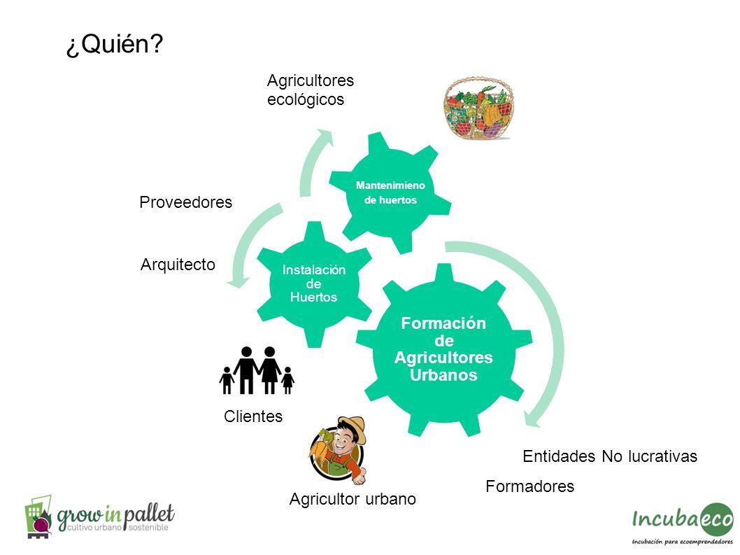 Formación de Agricultores Urbanos