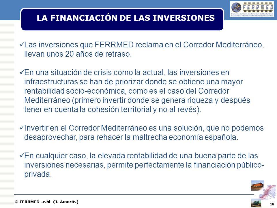 LA FINANCIACIÓN DE LAS INVERSIONES