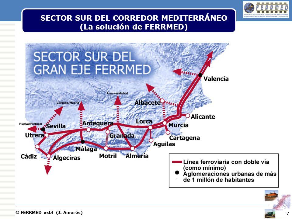 SECTOR SUR DEL CORREDOR MEDITERRÁNEO (La solución de FERRMED)