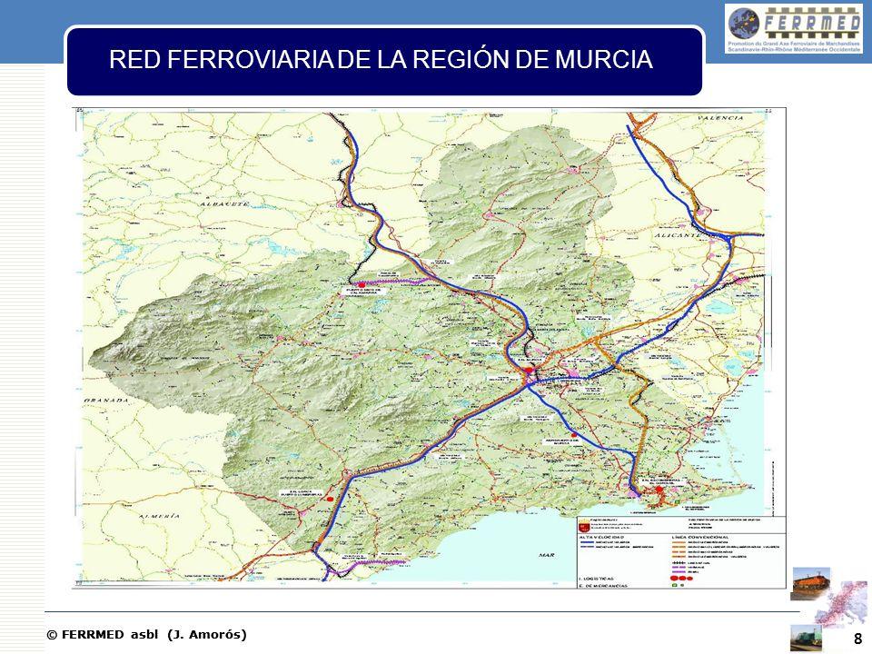 RED FERROVIARIA DE LA REGIÓN DE MURCIA