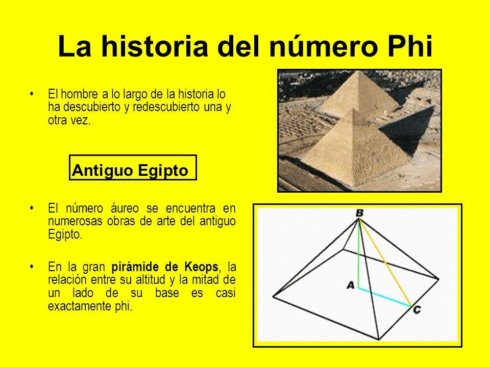La historia del número Phi