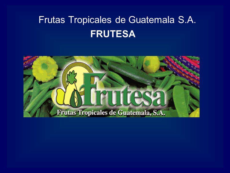 Frutas Tropicales de Guatemala S.A.