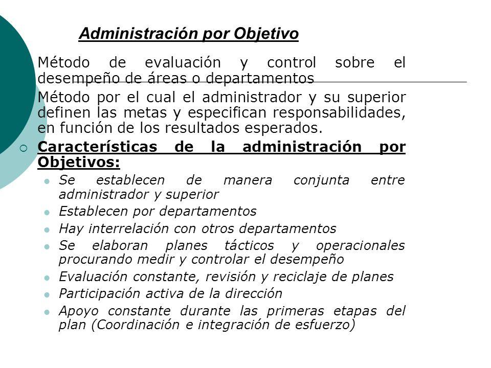 Administración por Objetivo