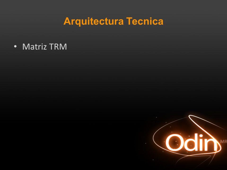 Arquitectura Tecnica Matriz TRM