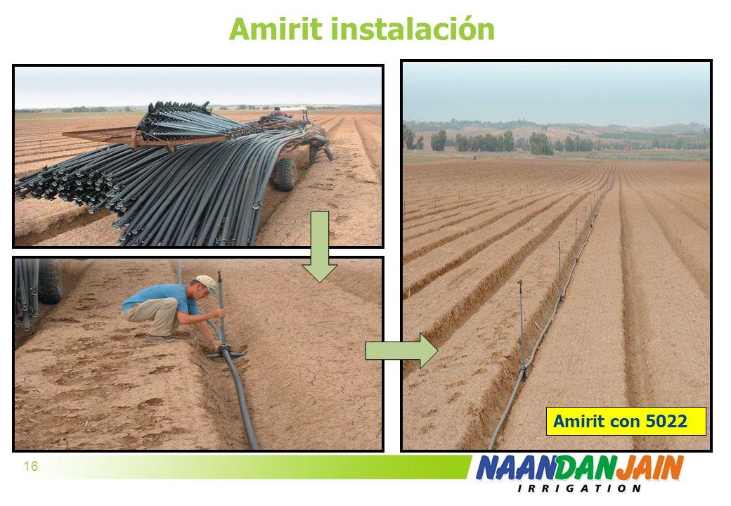 Amirit instalación Amirit con 5022