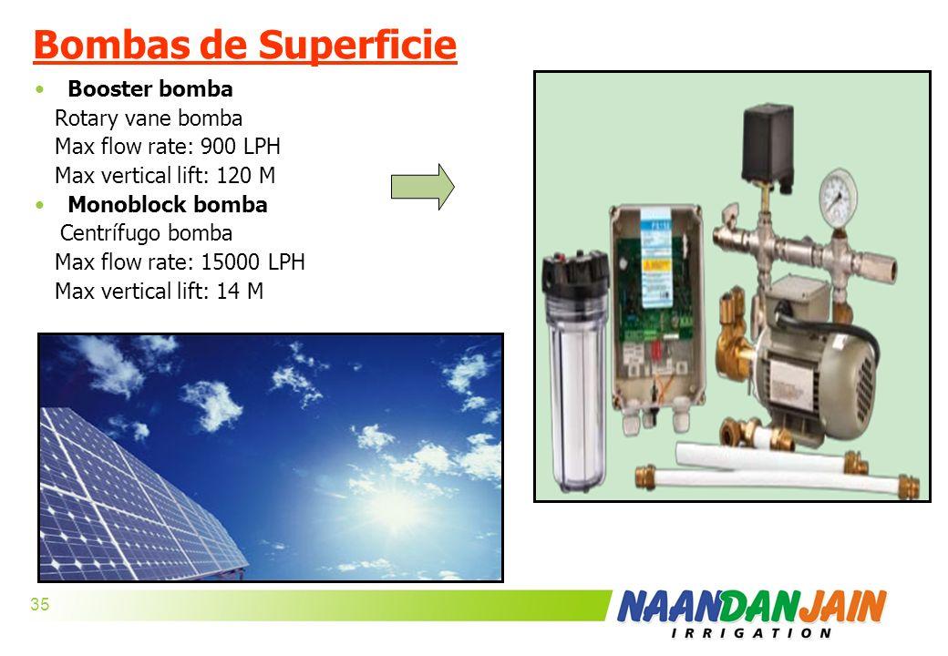 Bombas de Superficie Booster bomba Rotary vane bomba