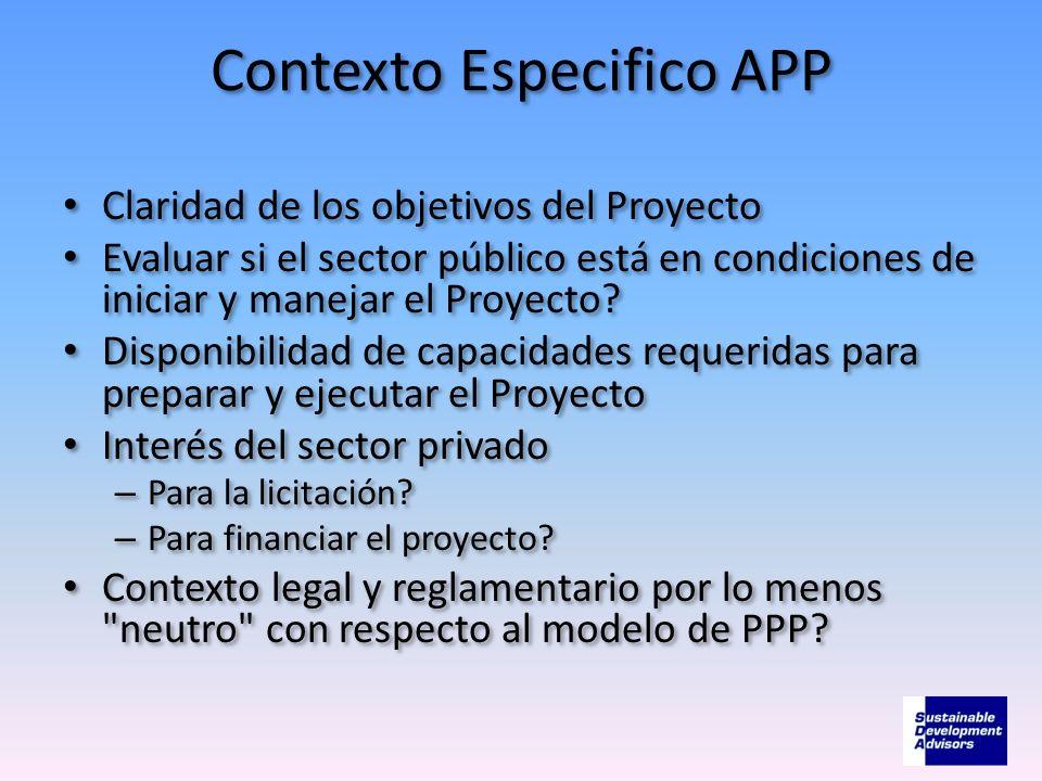 Contexto Especifico APP