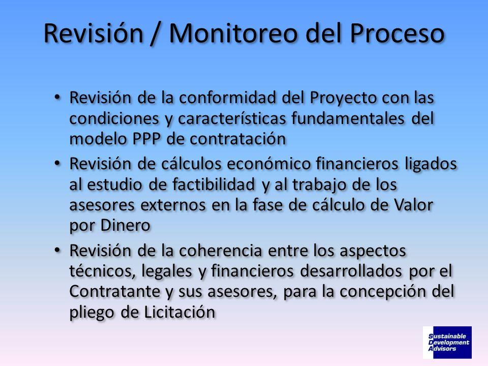Revisión / Monitoreo del Proceso