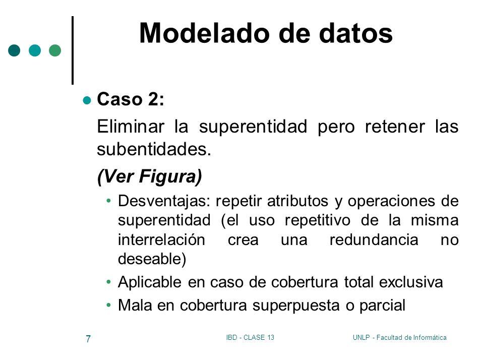 Modelado de datos Caso 2: