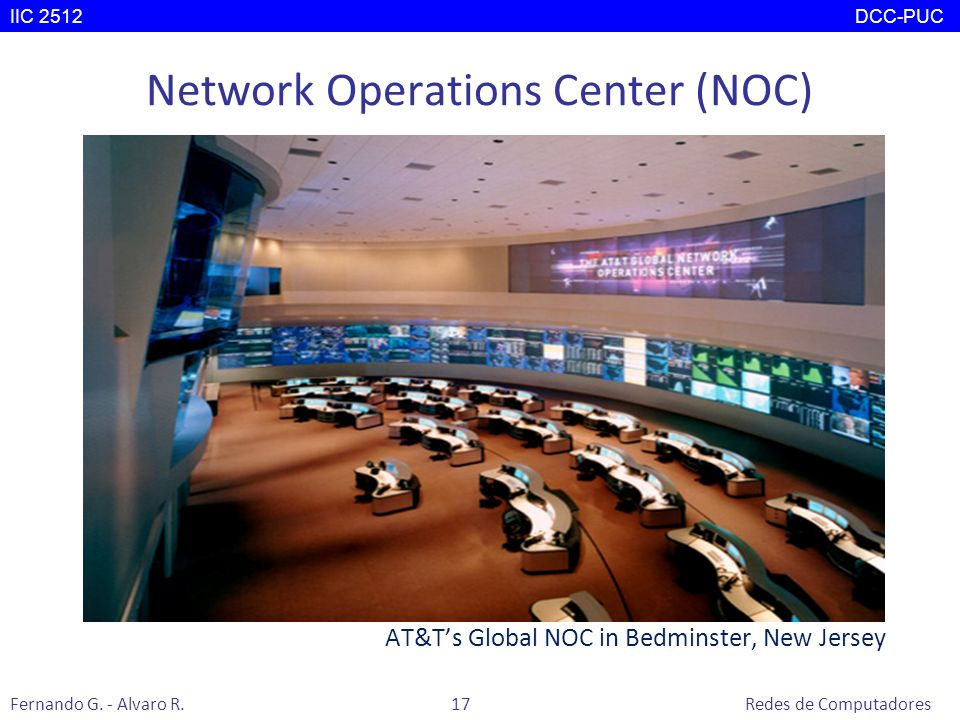 Network Operations Center (NOC)
