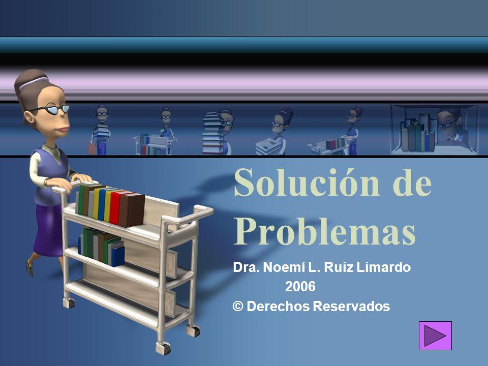 Dra. Noemí L. Ruiz Limardo 2006 © Derechos Reservados