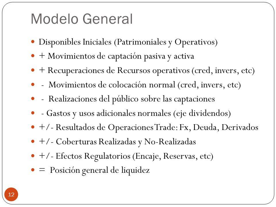Modelo General Disponibles Iniciales (Patrimoniales y Operativos)