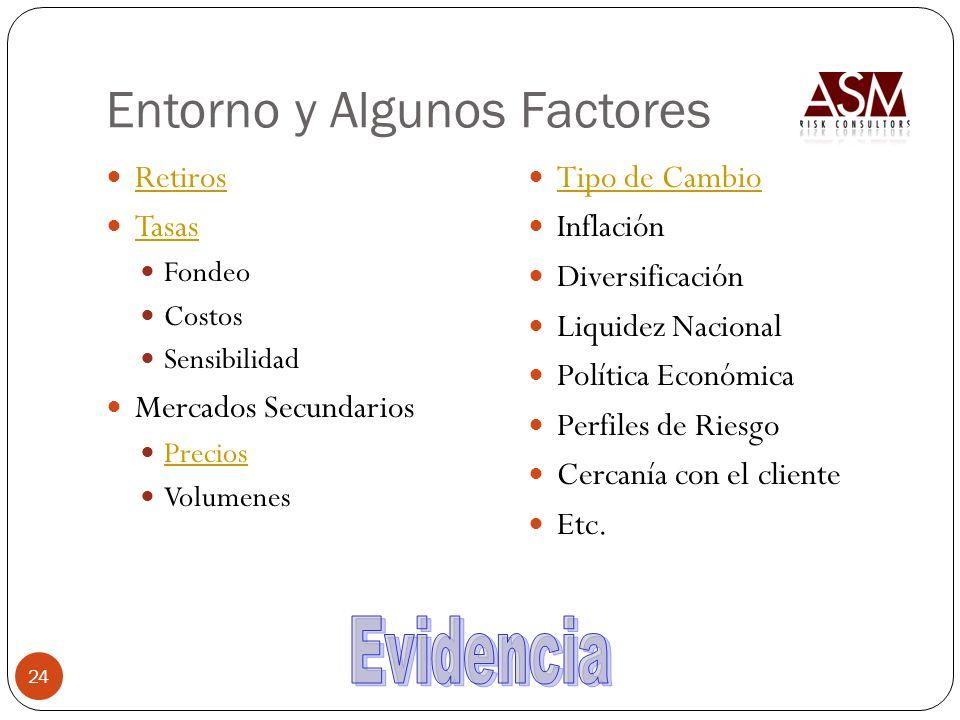 Entorno y Algunos Factores
