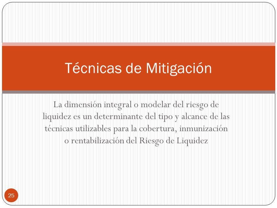 Técnicas de Mitigación