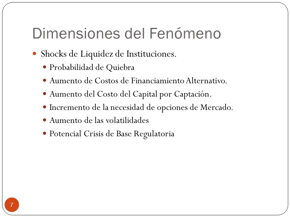 Dimensiones del Fenómeno