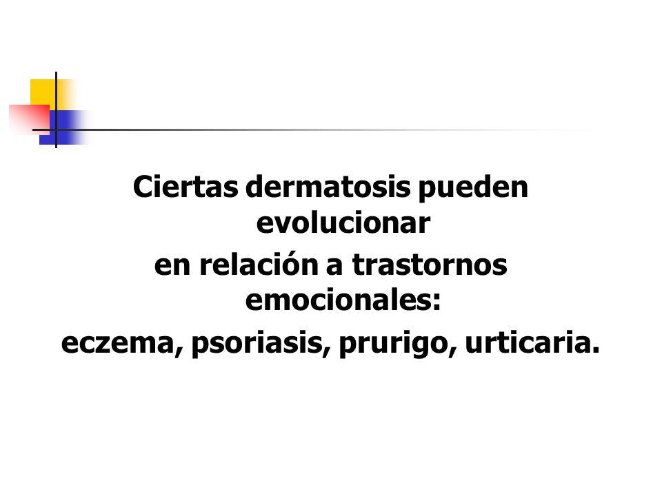 Ciertas dermatosis pueden evolucionar