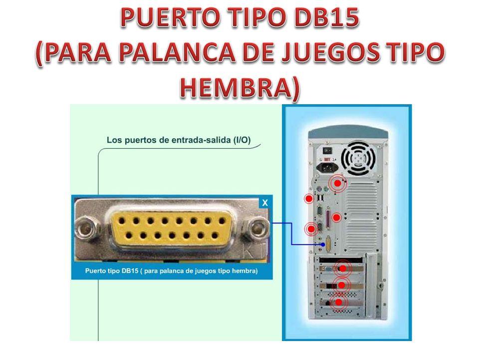 PUERTO TIPO DB15 (PARA PALANCA DE JUEGOS TIPO HEMBRA)