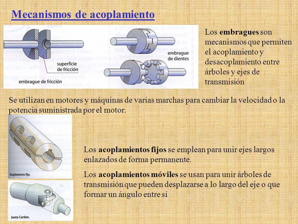 Mecanismos de acoplamiento