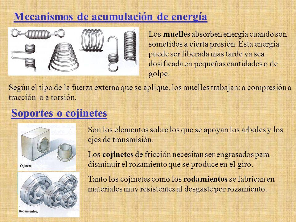 Mecanismos de acumulación de energía