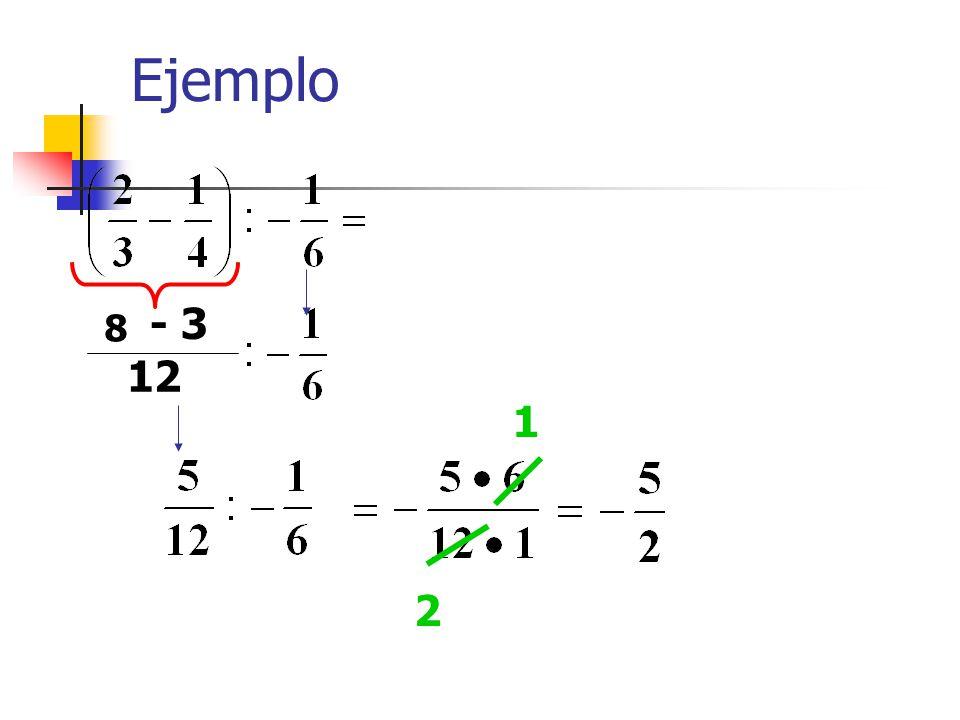Ejemplo - 3 8 12 1 2