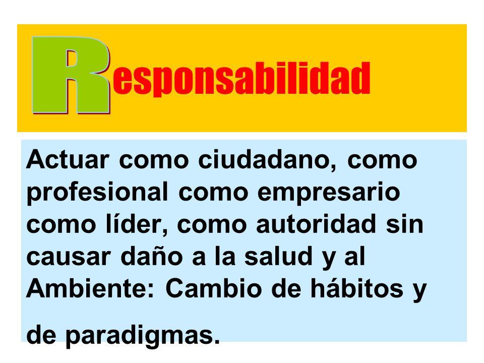 esponsabilidad R.