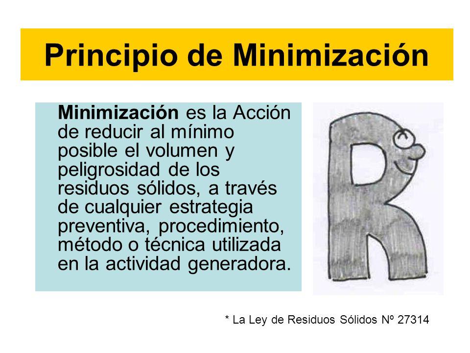 Principio de Minimización