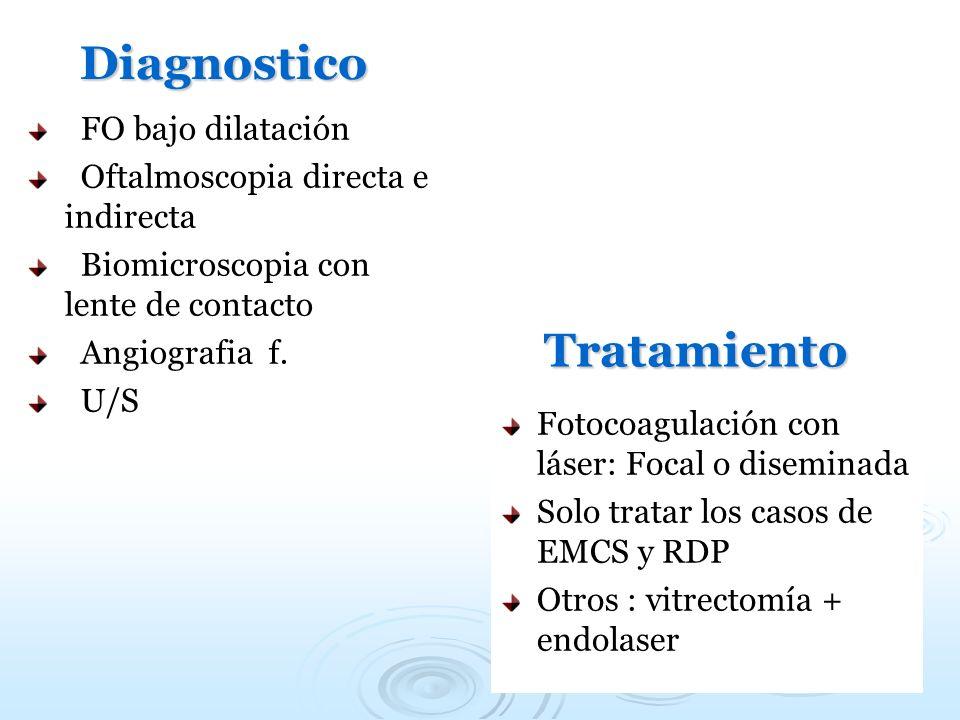 Diagnostico Tratamiento