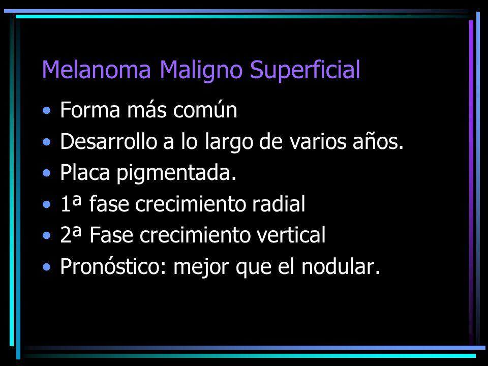 Melanoma Maligno Superficial