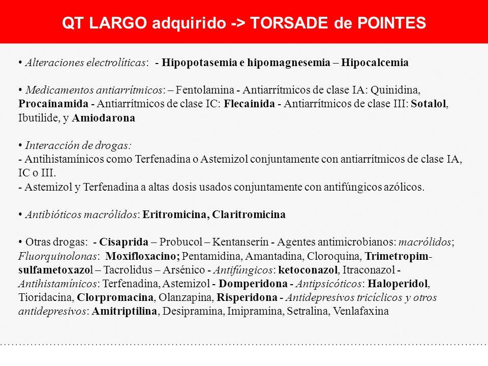 QT LARGO adquirido -> TORSADE de POINTES