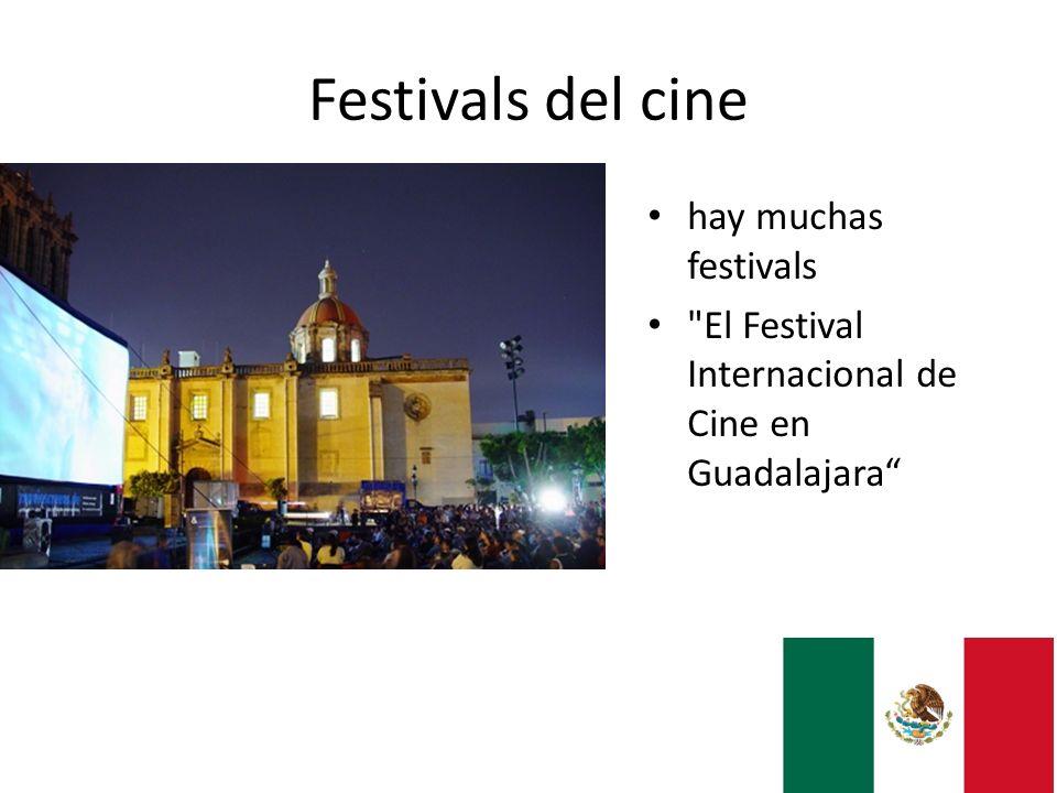 Festivals del cine hay muchas festivals