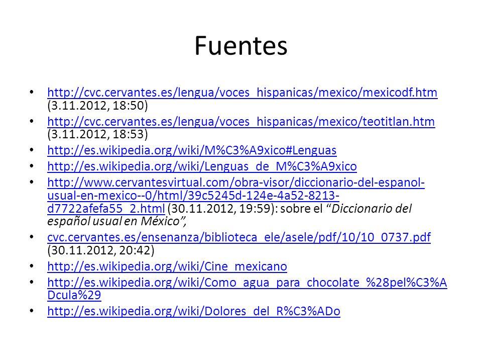Fuentes http://cvc.cervantes.es/lengua/voces_hispanicas/mexico/mexicodf.htm (3.11.2012, 18:50)