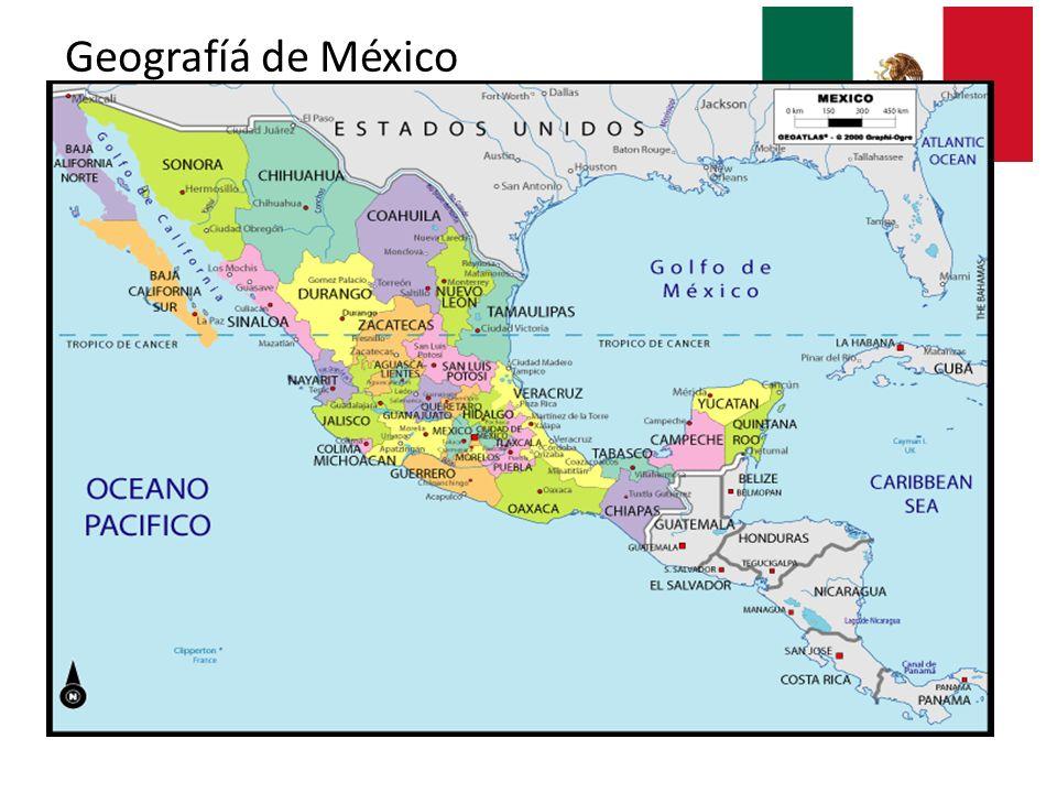 Geografíá de México