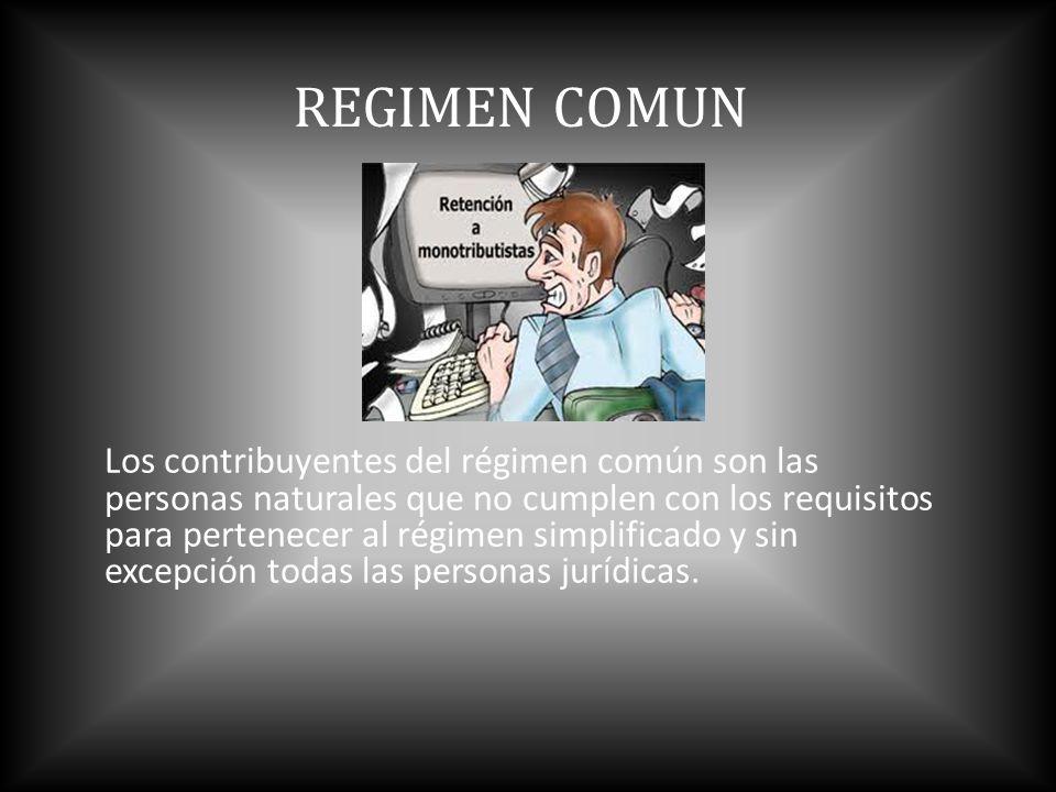 REGIMEN COMUN