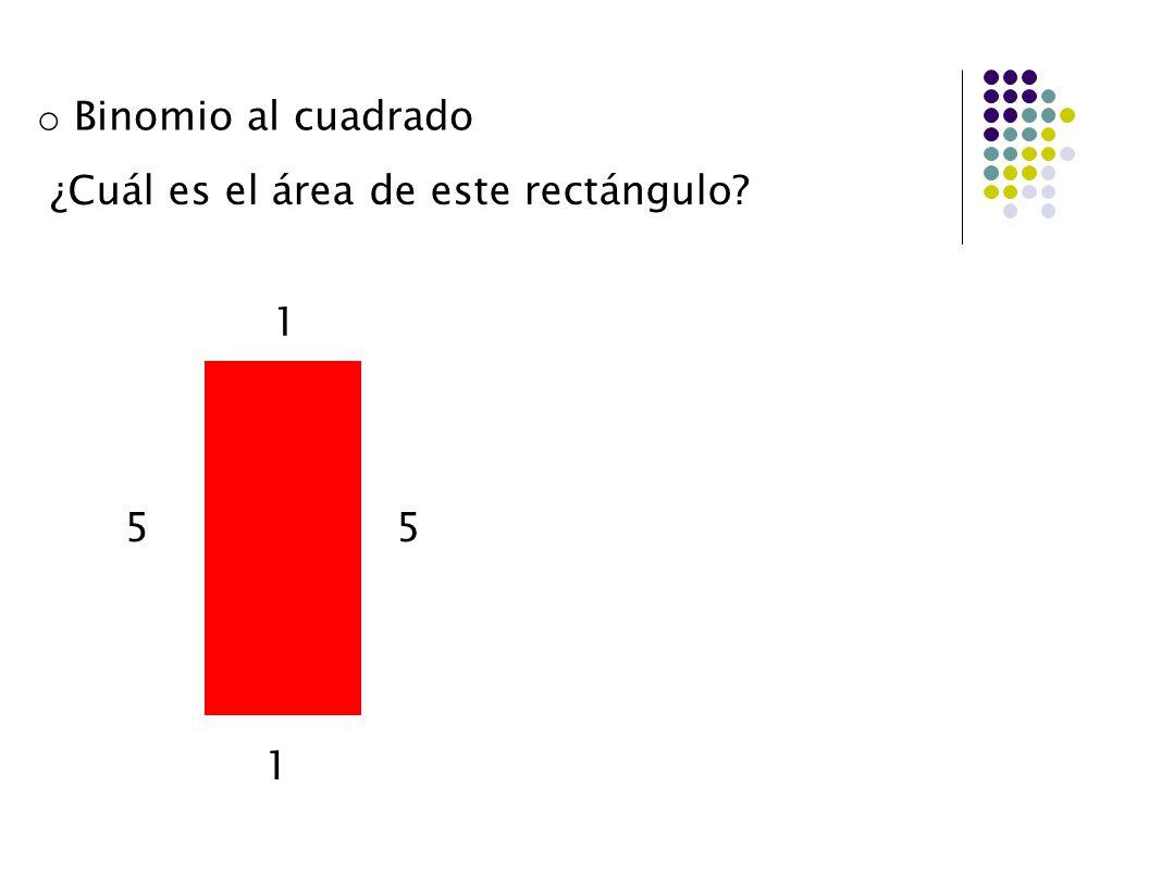 ¿Cuál es el área de este rectángulo