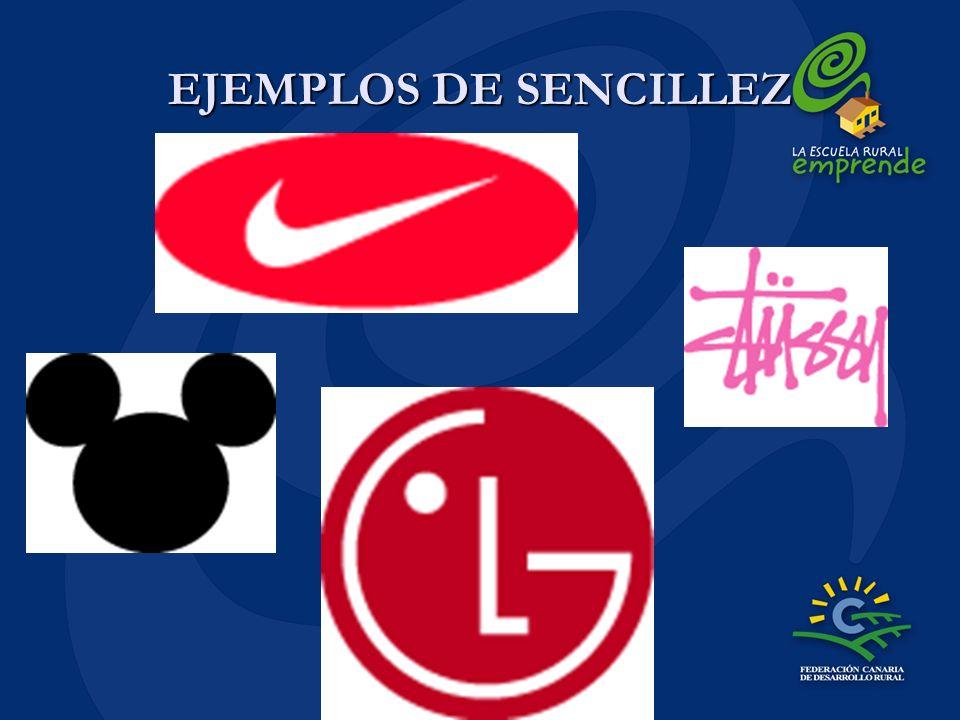 EJEMPLOS DE SENCILLEZ