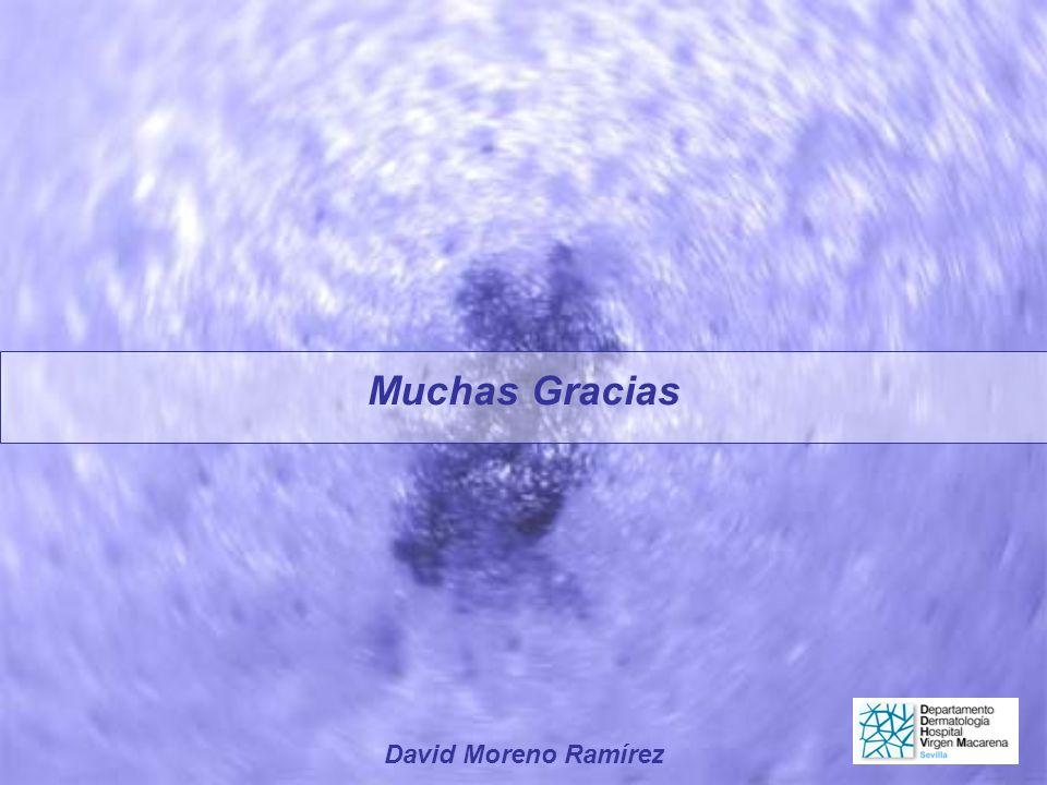 Muchas Gracias David Moreno Ramírez