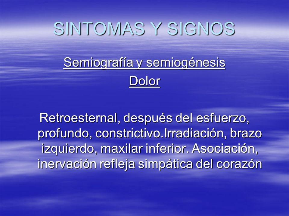 Semiografía y semiogénesis