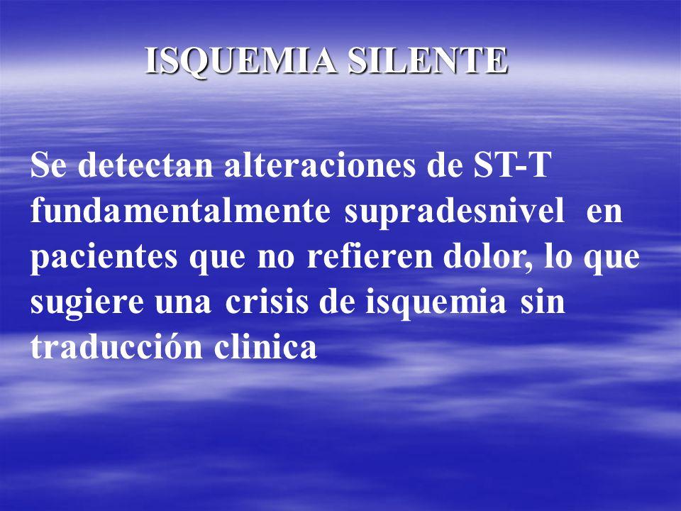 ISQUEMIA SILENTE